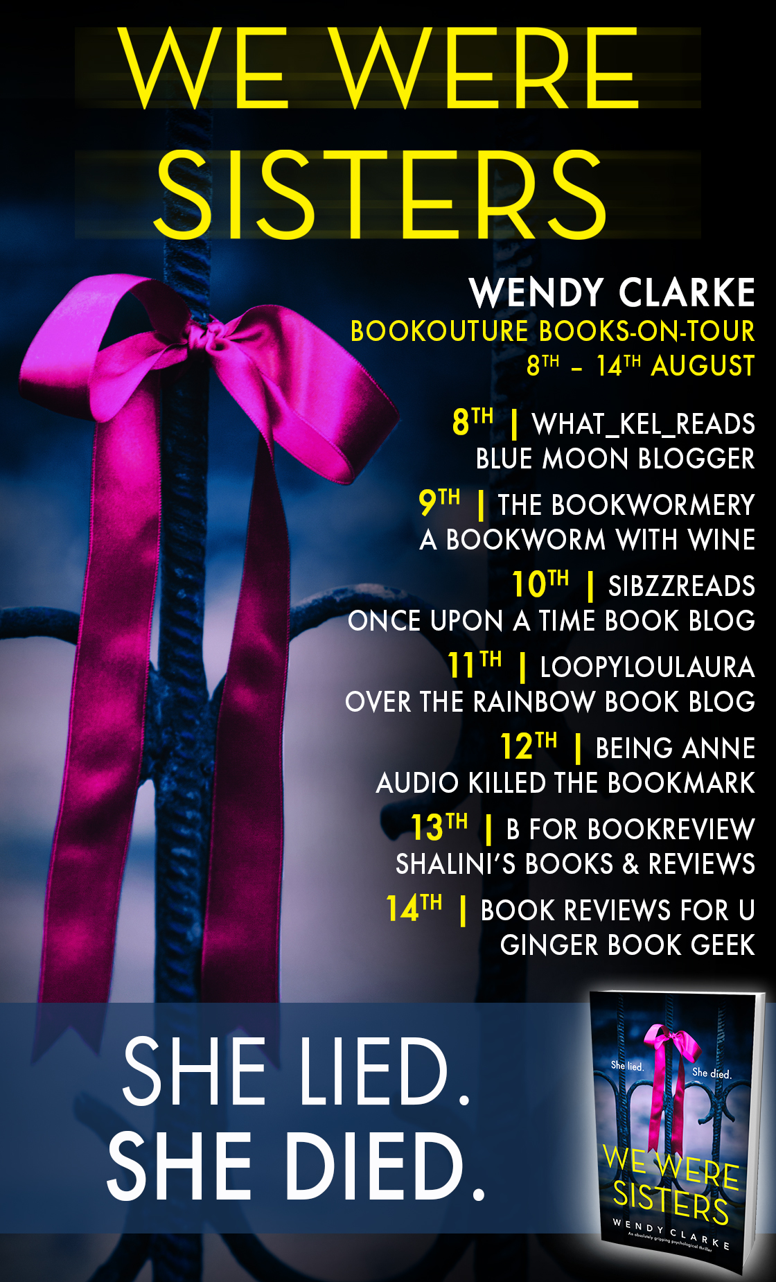 Review: We Were Sisters by Wendy Clarke @WendyClarke99 @bookouture